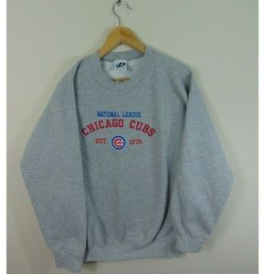 Vintage Chicago Cubs L Crewneck Sweatshirt MLB